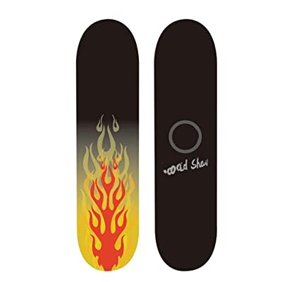 Aniseed Beginner Street Skateboard Flame Dance Skateboards Cruiser 31 Inch : Sports & Outdoors