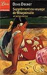 Supplément au voyage de Bougainville et autres contes par Diderot