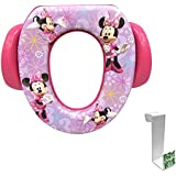 Minnie Mouse Soft Potty Seat with Toilet Tank Potty...