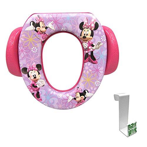 Minnie Mouse Soft Potty Seat with Toilet Tank Potty Hook