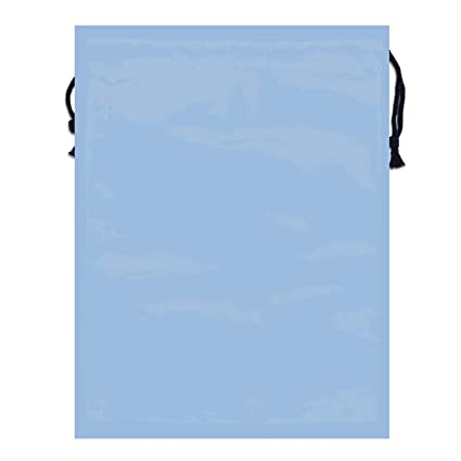 926f01c6fd8d Amazon.com: MOANDJI Carolina Blue Solid Color Double Sided Print ...