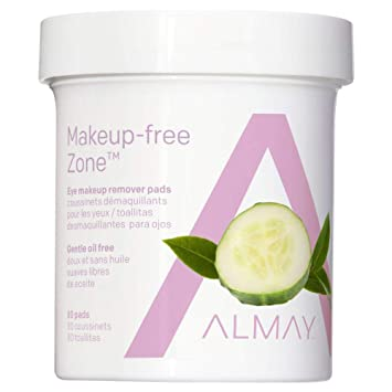 almay oil free eye makeup remover pads 15 count