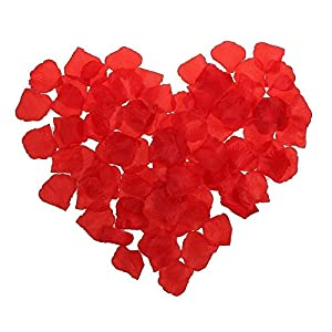 COTDINFORCA Romantic Rose Petals,1000 Pieces Artificial Flowers Perfect for Wedding/Christmas/Mother's Day/Valentine's Day/Engagement Party or Anniversary Decoration. 61