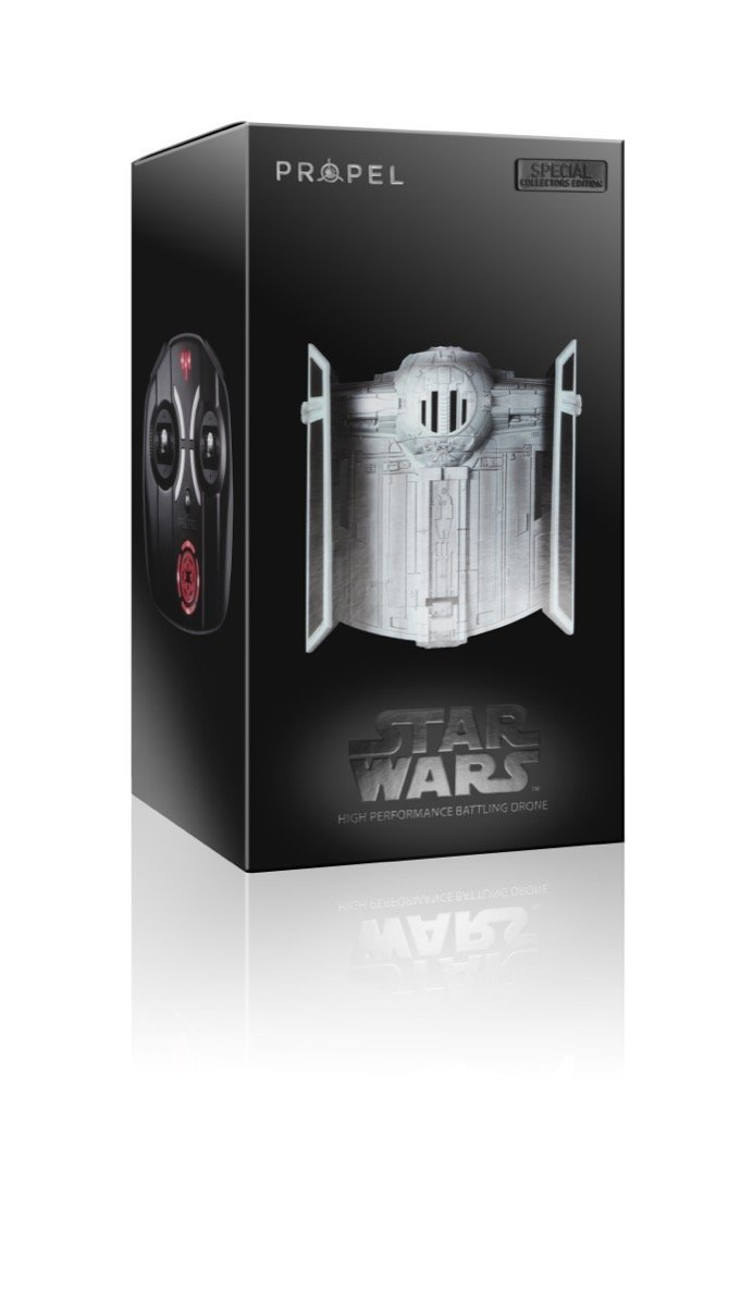Propel SW-0327-CX Star Wars Tie-Advanced - Quadcopter de la ...