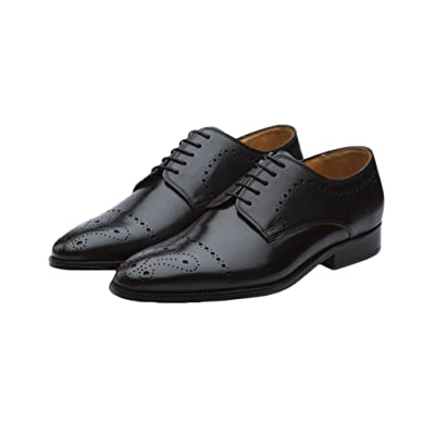 Amazon.com | 3DM Lifestyle Men's Lace Up Leather Oxfords Shoes | Oxfords