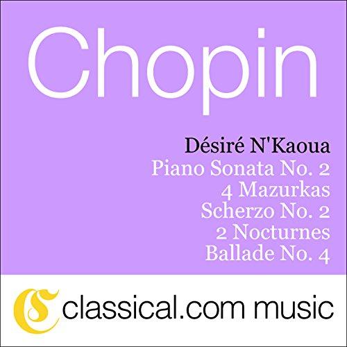 Fryderyk Franciszek Chopin, Scherzo No. 2 In B Flat Minor, Op. 31 (Scherzo No 2 In B Flat Minor)