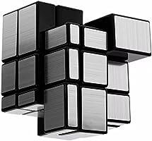 Cubo Rubik Shengshou Mirror 3x3 Plateado Magic Cube