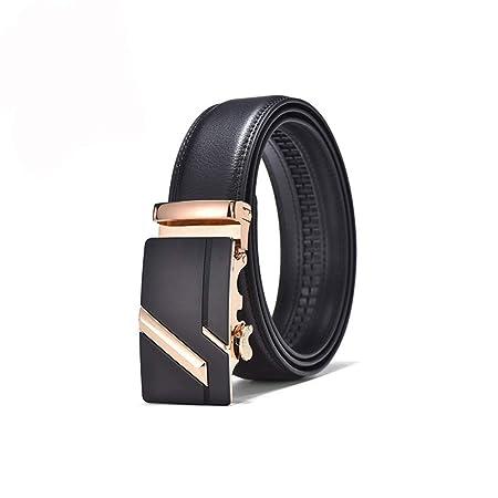 Kanqingqing Cinturón para Hombres Cinturones de Cuero para ...