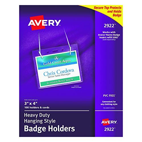 Neck Style Name Badges - 5