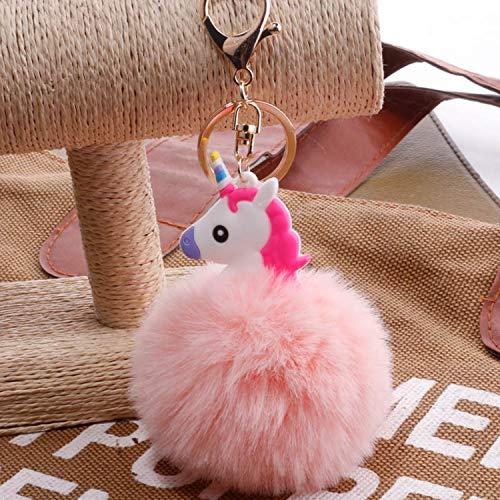 JEWH Kawaii Fresh Horse - Plush Stuffed Animal Cartoon - Kids Toys for Girls, Children, Baby on Birthday, Pendant Dolls ( Pink 2) from JEWH