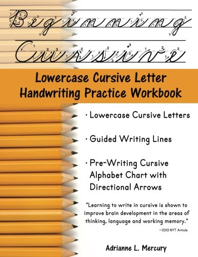 Counting Number worksheets letter trace worksheets : Beginning Cursive: Lowercase Cursive Letter Handwriting Practice ...
