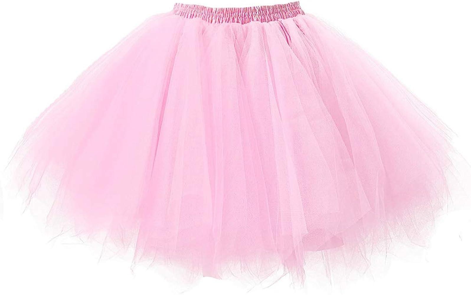 Niñas Adultos Mini Falda de Ballet Skirt Princesas Tutú de Tul ...