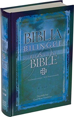 Biblia Bilingüe con Deuterocanónicos / Bilingual Bible with Deuterocanonical Books (Spanish Edition)