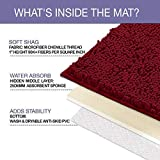 LuxUrux Bathroom Rug Mat Set-Extra-Soft Plush