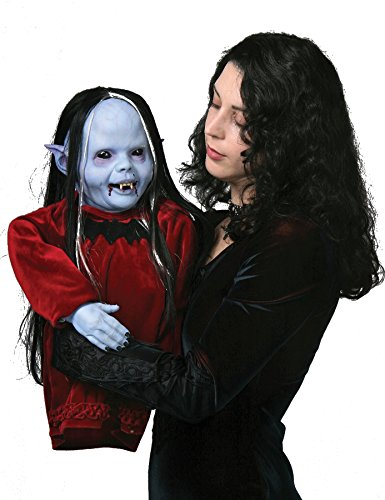 Ultimate Halloween Costume UHC Scary Baby Vampire Nocturna Puppet Horror Theme Party Latex Decoration
