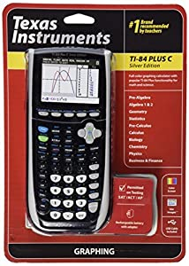 Texas Instruments TI84 Plus C Silver Edition