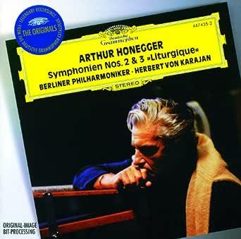 Honegger: Symphonies Nos.2 & 3 / Stravinsky: Concerto in D for ...
