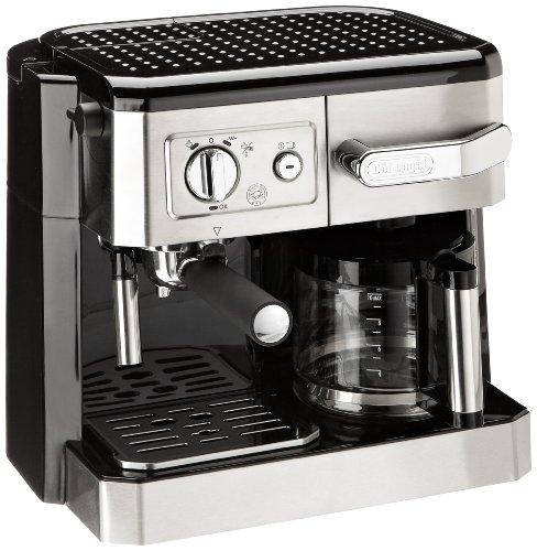 DeLonghi BCO 420 Kombi-Kaffeemaschine / 15 Bar / ESE-System / edelstahl