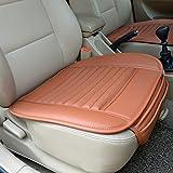 Haoun Car Seat Covers,PU Leather Bamboo Charcoal