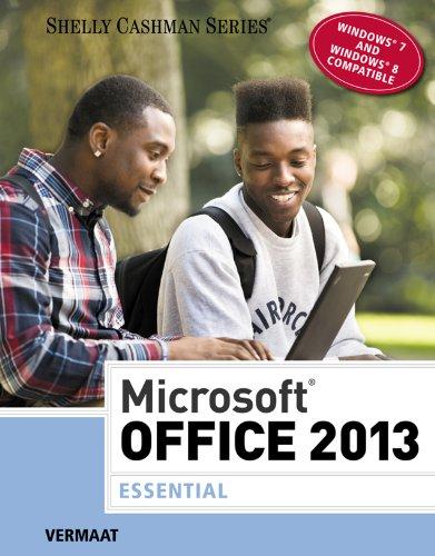 Microsoft Office 2013: Essential (Shelly Cashman) Pdf