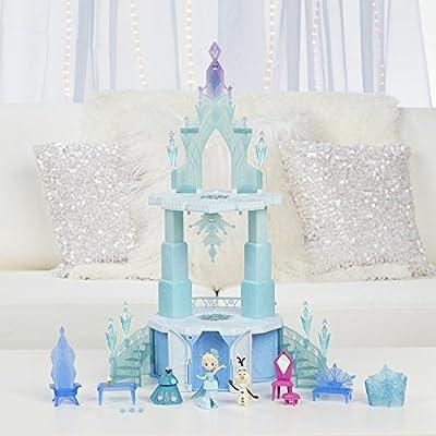 Disney Frozen Little Kingdom Elsa's Magical Rising Castle: Toys & Games