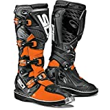 Sidi X-3 TA Off Road Motorcycle Boots Black/Flo Orange US11/EU45 (More Size Options)