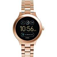 Fossil Q Women's Gen 3 Venture Stainless Steel Smartwatch, Color: Rose Gold-Tone (Model: FTW6000)