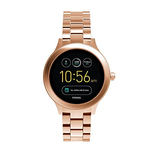 Fossil Q Women's Gen 3 Venture Stainless Silicone and Steel Smartwatch