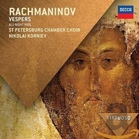 Rachmaninov: Vespers - All Night Vigil, Op.37: Amazon.co.uk: Music