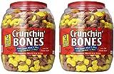 Sunshine Mills Crunchin Bones Barrel for Dogs, 2-Pound (2-Pack)
