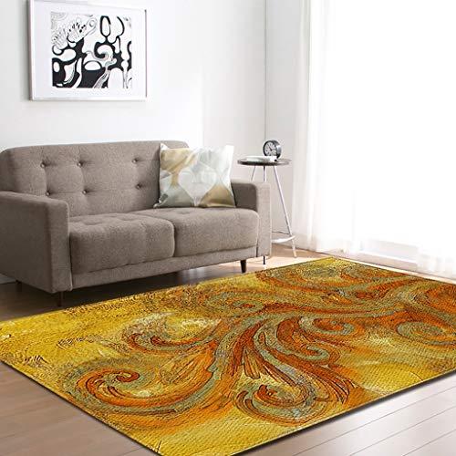 Alfombras y moquetas Moderno y minimalista europeo de la sala de estar, comedor, alfombra, alfombra del piso, mesa de cafe, sofa, alfombra grande, manta junto a la cama, alfombra antideslizante (d