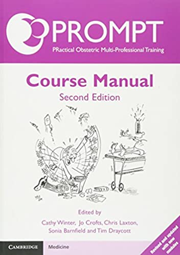 prompt course manual amazon co uk prompt maternity foundation rh amazon co uk