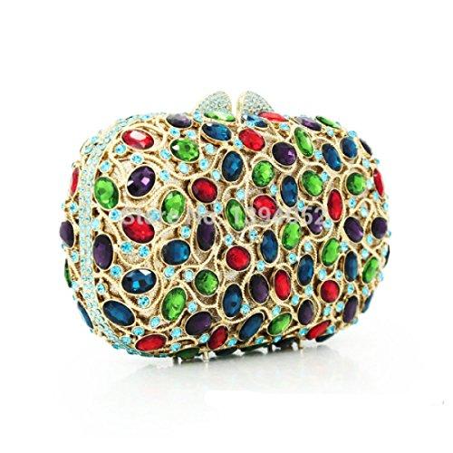 Main De Diamants B Cristal D'embrayage Lady Soirée Robe À Sac T874qTnv