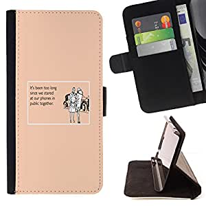 DEVIL CASE - FOR LG G3 - Technology Addiction Love Funny Quote - Style PU Leather Case Wallet Flip Stand Flap Closure Cover