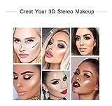 GARYOB Liquid Highlighter Makeup Glow Face Contour Bronze Make Up, Waterproof Glitter Brighten Shimmer Highlighter