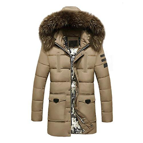 caqui de para gruesa larga algodón largo El cap ropa hombres abrigo párrafo de y XXXXL chaqueta Sau moda algodón tw4fXq4xaB