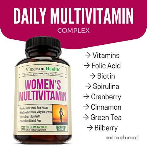 vimerson health womens daily multivitamin supplement