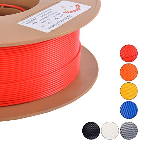 RepRapper Red 3D PLA 3D Printer Filament 1.75 mm 1kg Spool (2.2lbs) Perfectly Coiled in Eco-Friendly Straw Based Spool (List Of Best Rappers Ever)