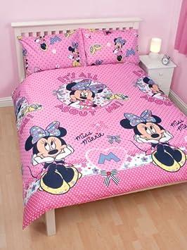 linge de lit 200 x 200 Parure housse de couette Linge de lit Double Minnie Disney 200 X  linge de lit 200 x 200