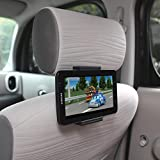 "Ppyple Universal Car Headrest Mount Holder for Tablet PC Including IPad,  IPad Mini, Samsung Galaxy Tab, and More, (Compatible with Screen Size 5 ~ 11"")"