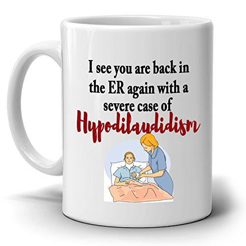 Registered RN Nursing Gifts for ER Nurses Coffee Mug, Printed on Both Sides!
