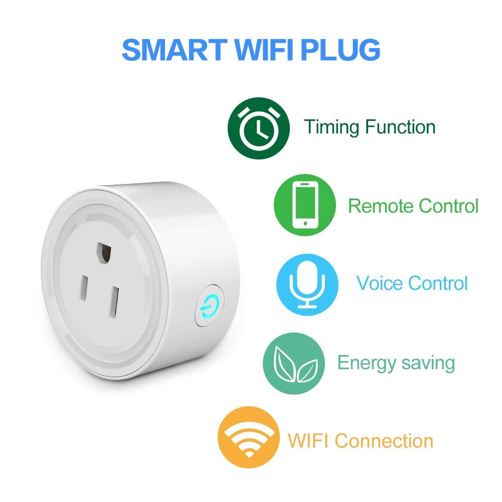 Alexa Smart Plug  Smart Wifi Outlet Work With Alexa