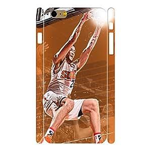Dramatic Elegant Basketball Athlete Pattern Skin for Iphone 6 Plus Case - 5.5 Inch