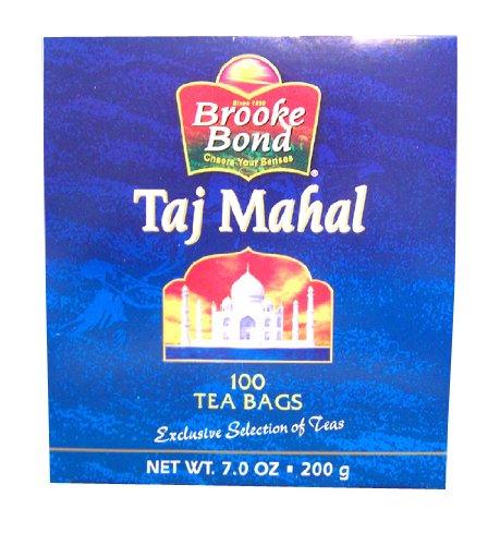 Brooke Bond Taj Mahal Tea (brooke bond TAJ MAHAL 100 tea bags (7)