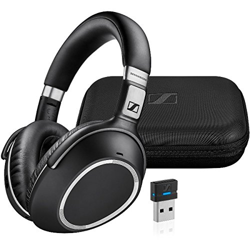 Sennheiser MB 660 UC – Dual-Ear Headset with Noise-Canceling Microphone – Includes USB Bluetooth Dongle by Sennheiser
