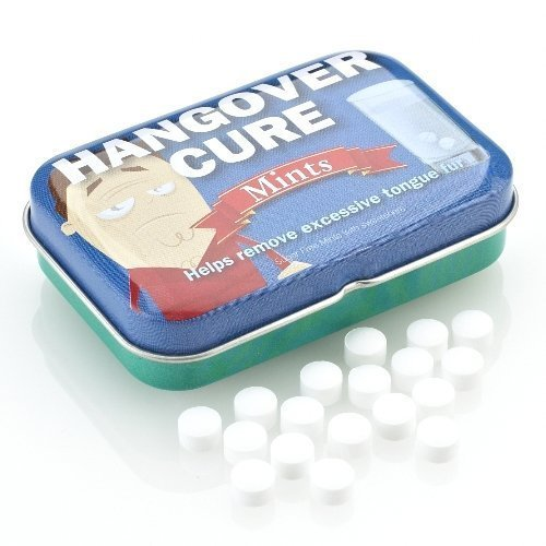 Boxer Joke Tin of Hangover Cure Mints Novelty Funny Naughty Gag Gift by (Sky Mint Tin)