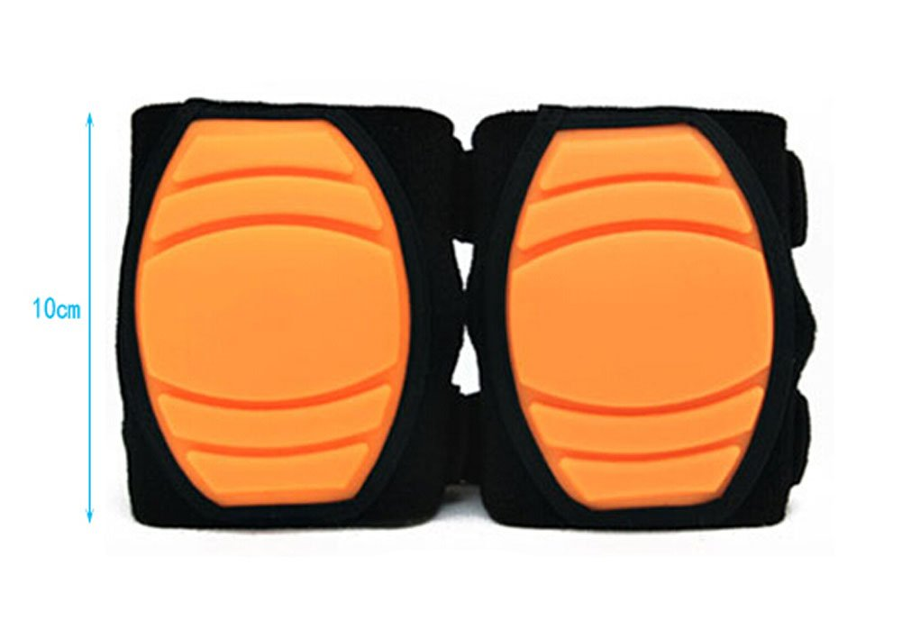 1 Pairs Soft Silicone Crawling Baby Knee Pads Protector Kids Knee Pad ORANGE Panda Superstore PS-BAB166863011-ALAN00647