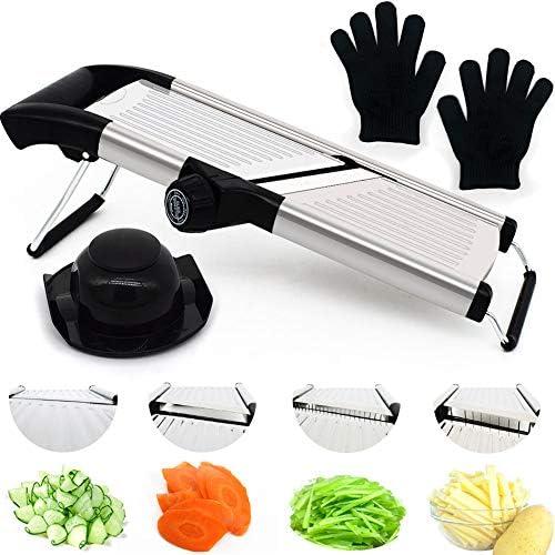 Adjustable Stainless Vegetable Mandoline S1806 V3 product image