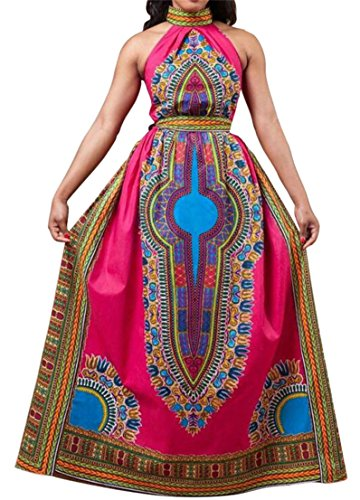 CMC Dress Swing Red Womens Casual Sleeveless Print Rise Pleated High Long rr6A4qw