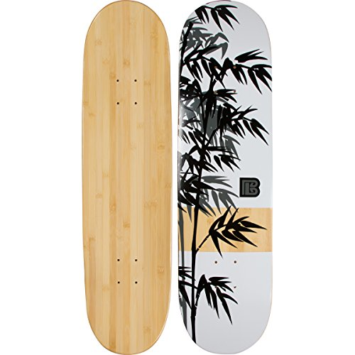 Bamboo Skateboards Graphic Skateboard Deck- More Pop,